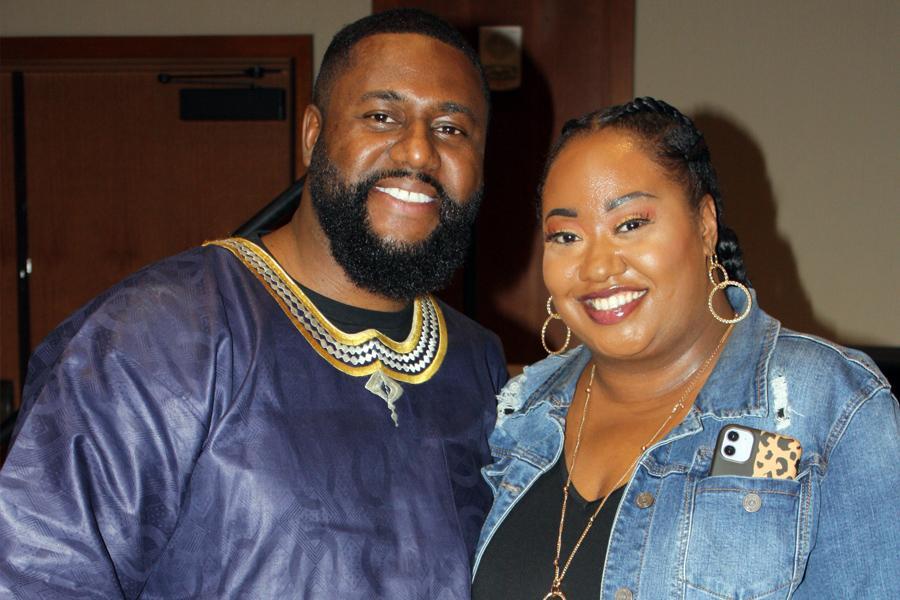 Kaia Brown and husband