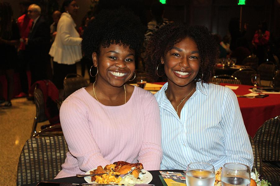 Students at Dr. Martin Luther King Jr. Luncheon