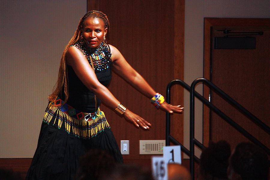 Dance: Nomsa Burkhardt,