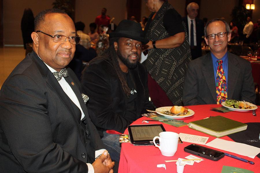 Minister Hugh Muhammad, Kendrick Dial and Rabbi Scott Meltzer
