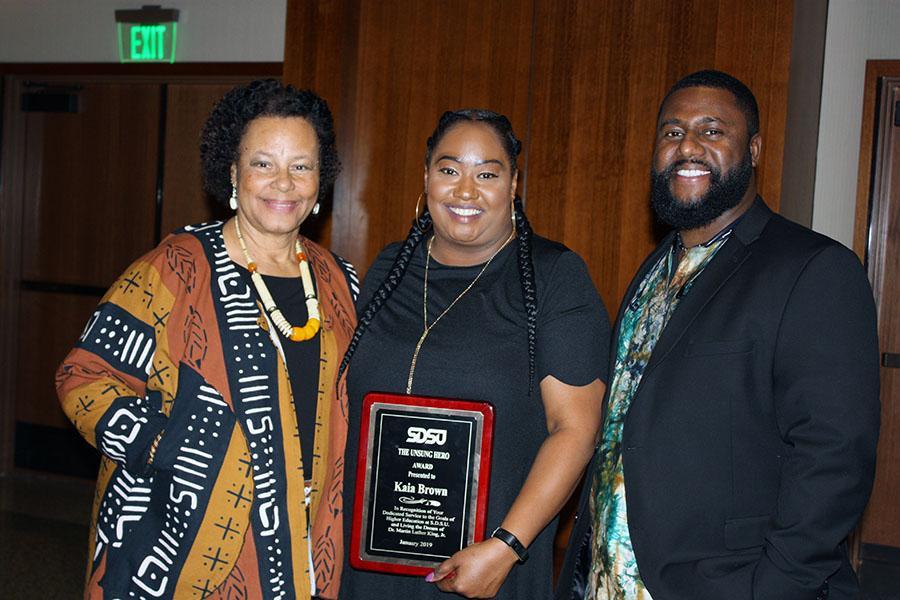 Unsung Hero Award: Kaia Brown and family