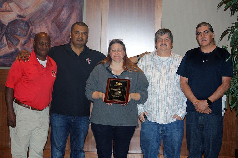 Unsung Hero Award- SDSU Custodial Staff